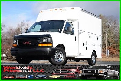 2004 GMC Savana Enclosed Utility Van 04 GMC Savana Cutaway Enclosed Utility Van 6.0L Vortec Gas Chevy Chevrolet Used