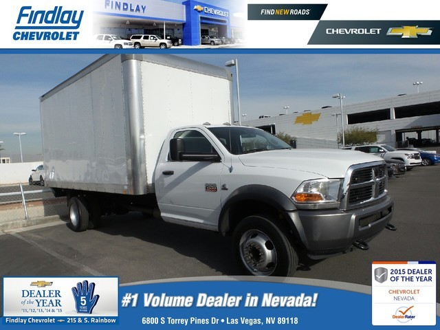 2011 Ram Chassis Cab  Cab Chassis