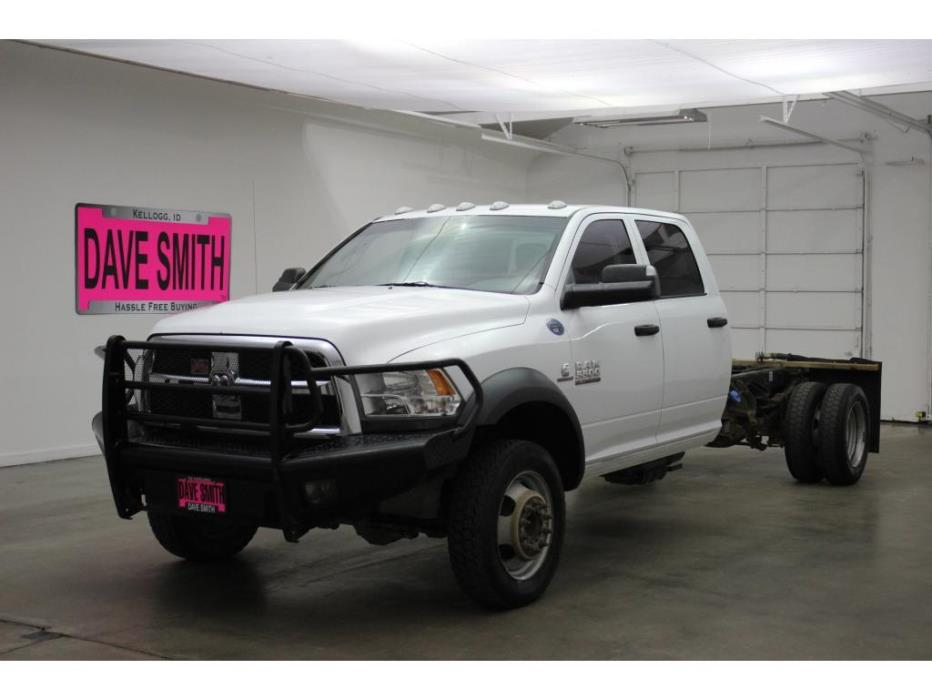 2014 Ram 5500 Chassis Cab Chassis