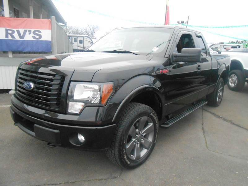 2012 Ford F-150 FX4 4x4 4dr SuperCab Styleside 6.5