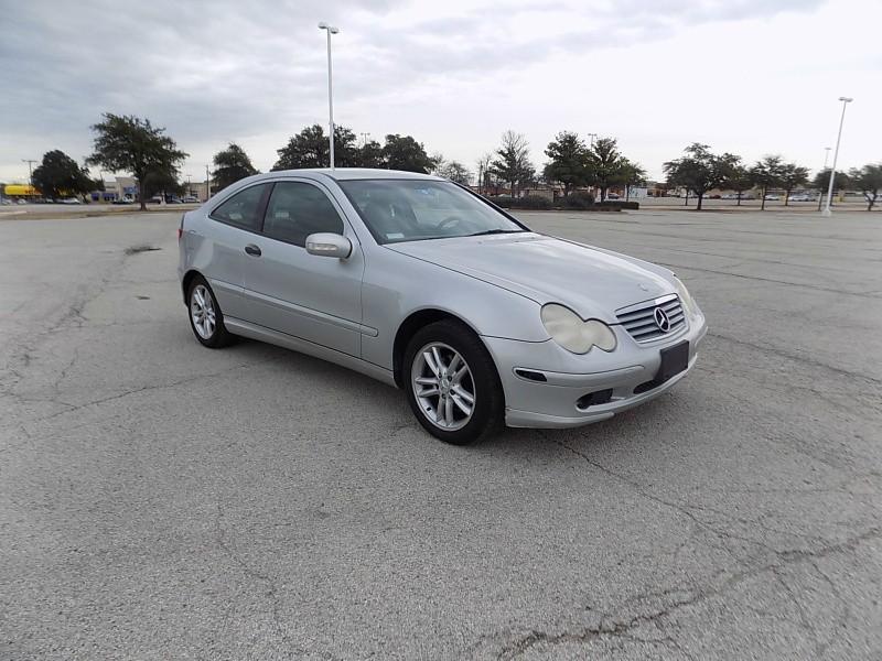 2002 Mercedes-Benz C-Class 2dr Cpe 2.3L
