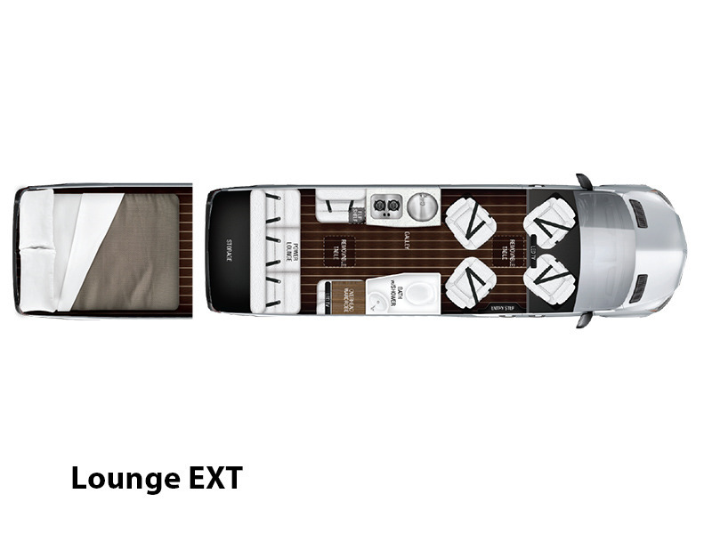 2017 Airstream Interstate Lounge EXT Lounge 4X4
