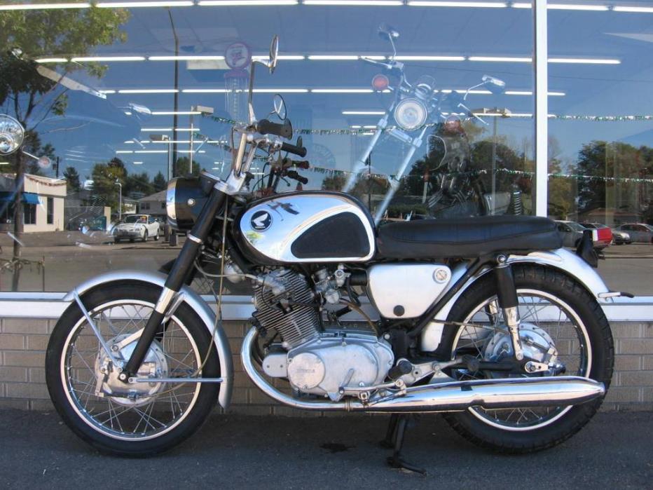 1962  Honda  CB77 Super Hawk