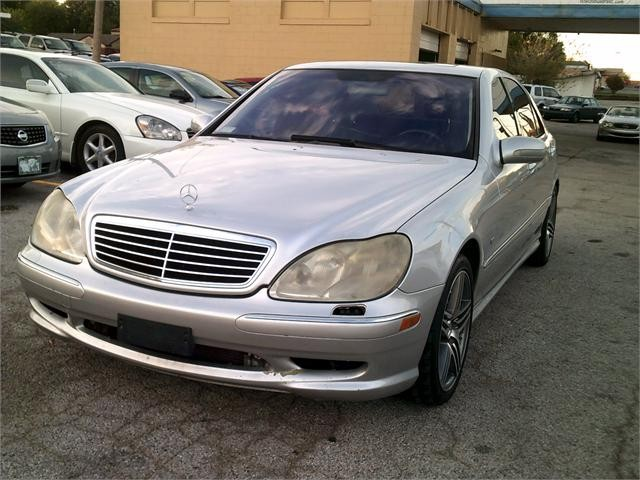 2002 Mercedes-Benz S-Class 4 Dr S430 Sedan