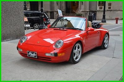 1997 Porsche 911 1997 Porsche 911 Carrera 1997 Carrera Used 3.6L H6 12V Manual RWD Convertible