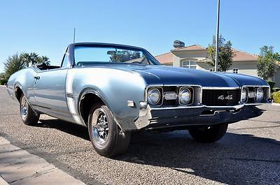 1968 Oldsmobile 442 -- 1968 OLDSMOBILE 442 CONVERTIBLE ~ All #'s Matching ~ *Concours Throughout!
