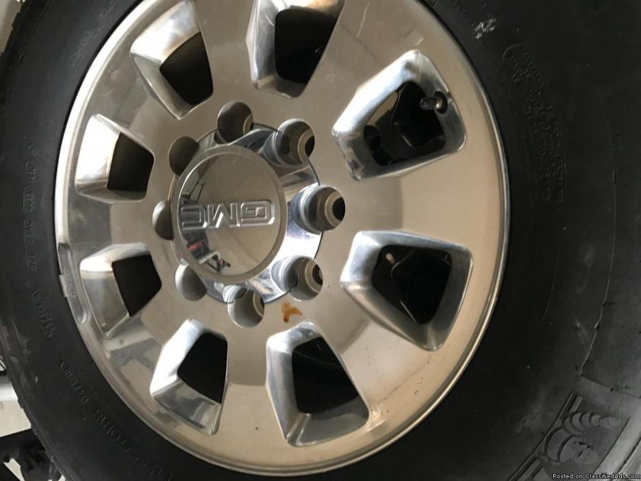 GMC RIMS AND TIRES