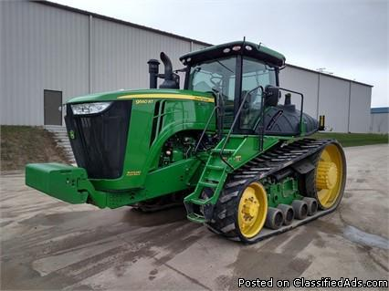 2012 John Deere 9560RT Tractor For Sale in Des Moines, Iowa  50313