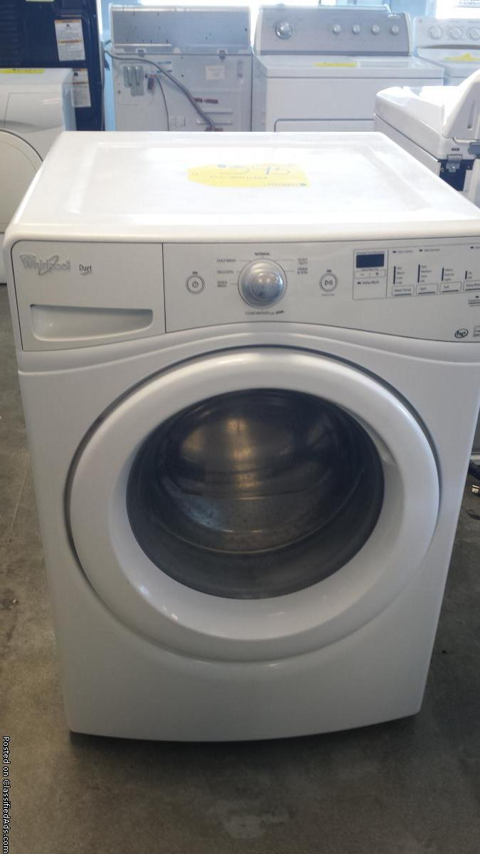 Whirlpool Duet Washer
