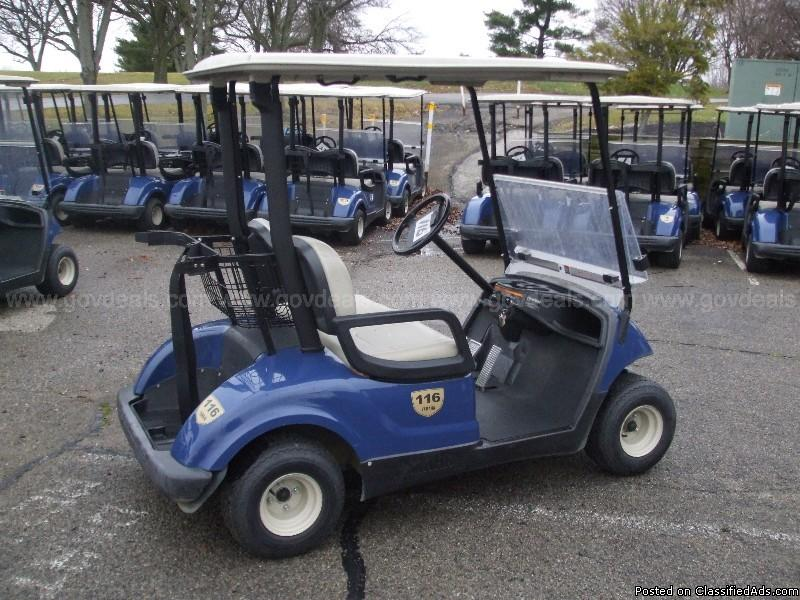 Lot of 160 Golf Carts