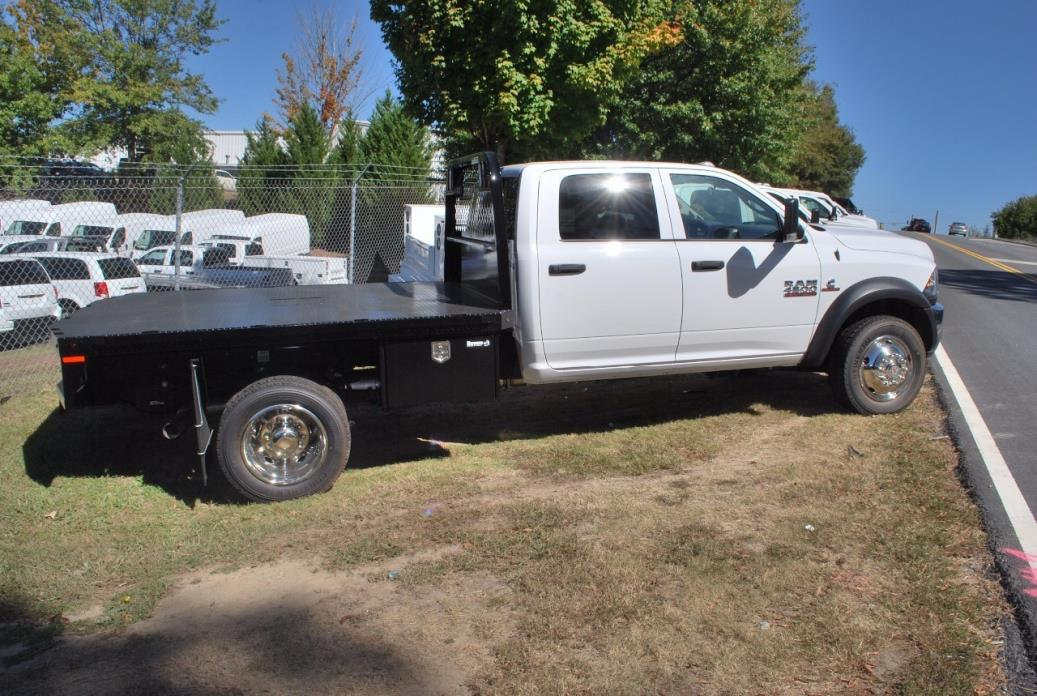 2016 Ram 4500 Chassis Cab  Flatbed Truck