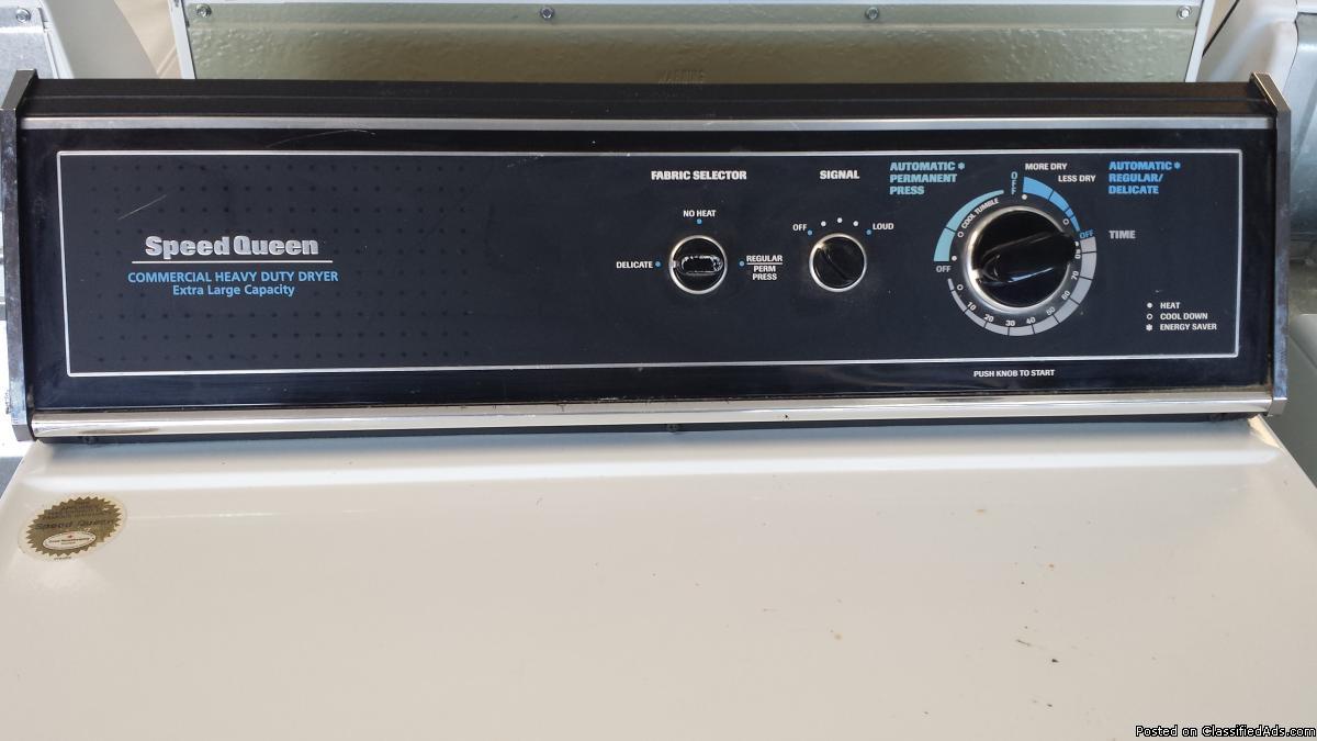 Speed Queen Gas Dryer