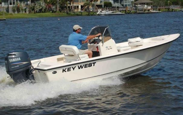 2017 Key West 176 Bay Reef