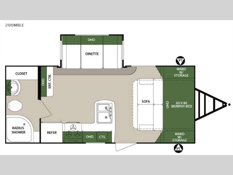 2016 Forest River Rv S 200MBLE
