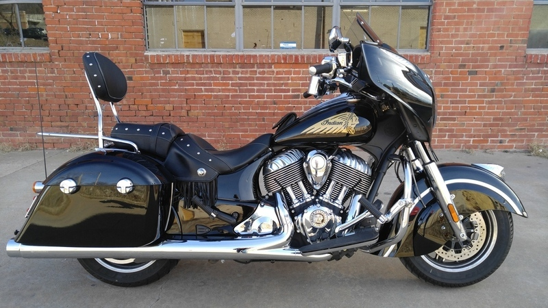 indian chieftain thunder black motorcycles for sale in oklahoma. Black Bedroom Furniture Sets. Home Design Ideas