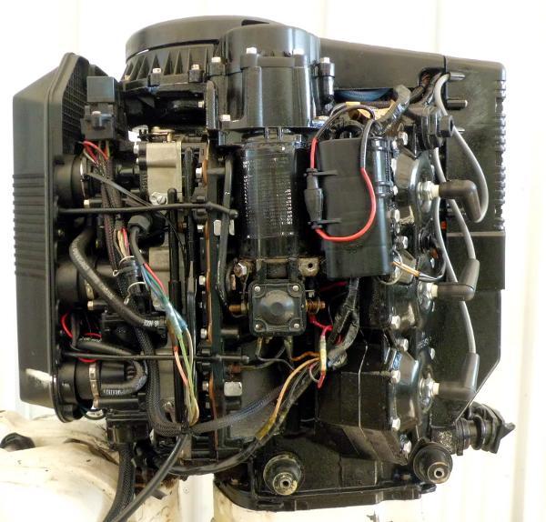 1992 EVINRUDE 175hp Powerhead 1992 V6 Looper, 2