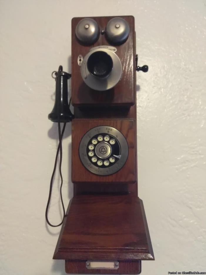 The Americana Circa 1882 telephone is certified by the Edison Instute's Henry...
