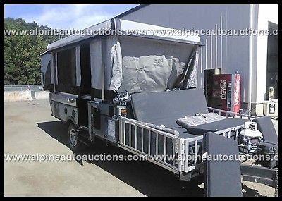 2007 Fleetwood EVO E34137 CAMPING TRAILER Used