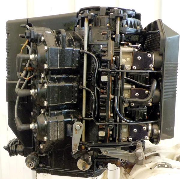 1992 EVINRUDE 175hp Powerhead 1992 V6 Looper, 0