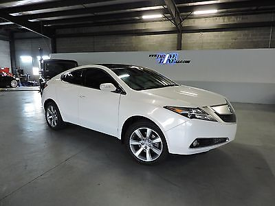 2012 Acura ZDX Sport Utility 4-Door 2012 acura zdx sport technology package white on white navi nicer than mdx