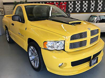 2005 Dodge Ram 1500 SRT-10 Standard Cab Pickup 2-Door 2005 Dodge Ram 1500 SRT-10 - 4,987 Miles - 1 Owner - All Original - Viper V10
