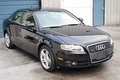 2007 Audi A4 Base Sedan 4-Door 2007 Audi A4 Quattro AWD Leather Sunroof HID Alloy Sdn 07 4WD B7 Knoxville TN