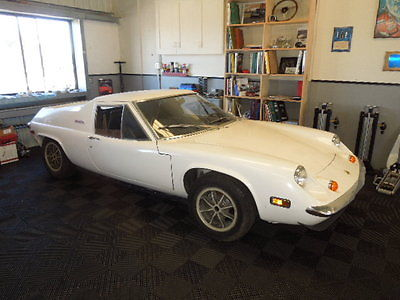 1972 Lotus /Europa S2 Twincam  1972 Lotus Europa Twin Cam