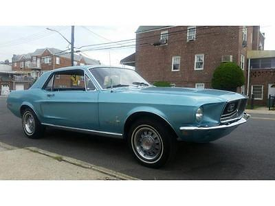 1968 Ford Mustang 2 DOOR 1968 FORD MUSTANG 2 DOOR 75800 Miles BLUE COUPE V8 Automatic