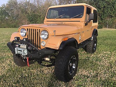1978 Jeep CJ CJ7 1978 Jeep CJ7 Frame Up Restored