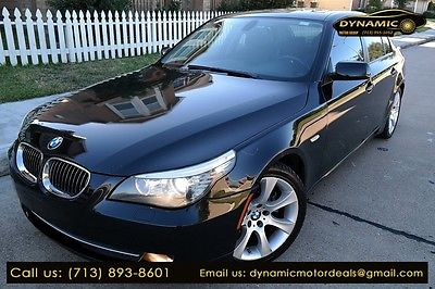 2010 BMW 5 535i 2010 BMW 5 535i 77,500 Miles BLACK 4dr Car 3.0 Automatic