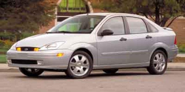 2002 Ford Focus SE Comfort 4dr Sedan w/Zetec