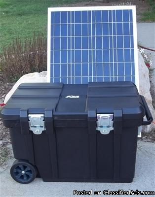 Emergency 5000 watt Solar Power Generator