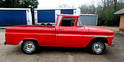 1963 Chevrolet C-10 C-10 CUSTOM OTHER FLEET SIDE SWB TRUCK 1963 C10 CHEVY PICKUP GMC TRUCK SHORT BOX V8 C/K 1500 OTHER BIG BACK GLASS SWB