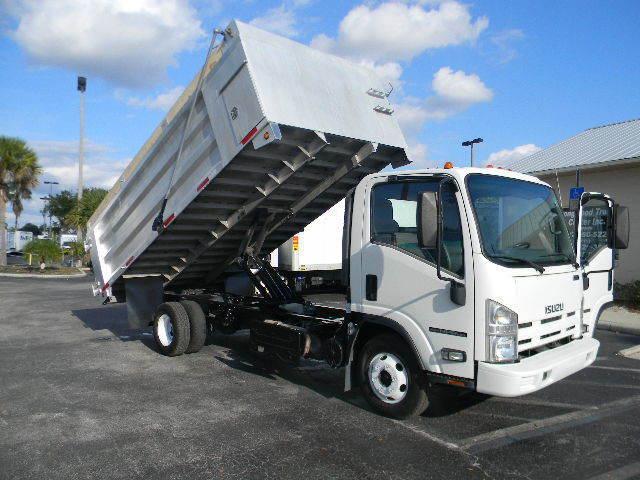 2013 Isuzu Npr Hd  Dump Truck