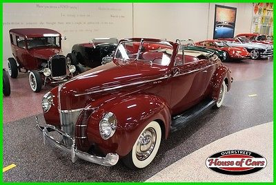 1940 Ford Other 1940 EARLY FORD, HENRY FORD STEEL, 1940 FORD DELUXE CONVERTIBLE