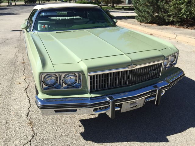 1975 Chevrolet Caprice Convertible ~ 1975 CHEVY CAPRICE CLASSIC CONVERTIBLE ~ ORIGINAL ~ ONLY 33K MILES ~