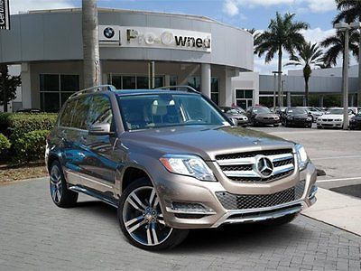 2013 Mercedes-Benz GLK-Class Base Sport Utility 4-Door 2013 SUV Used Gas V6 3.5L/213 7-Speed Automatic w/Manual Shift RWD Brown