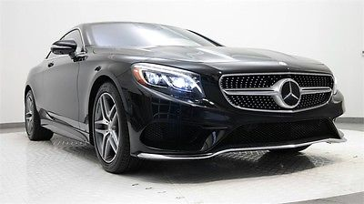 2015 Mercedes-Benz S-Class S550 2015 Mercedes-Benz S-Class, Obsidian Black Metallic with 4,671 Miles available n