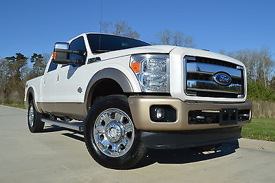 2012 Ford F-250 King Ranch 2012 Ford F-250 Crew Cab King Ranch FX4 Diesel Sunroof Michelins Clean