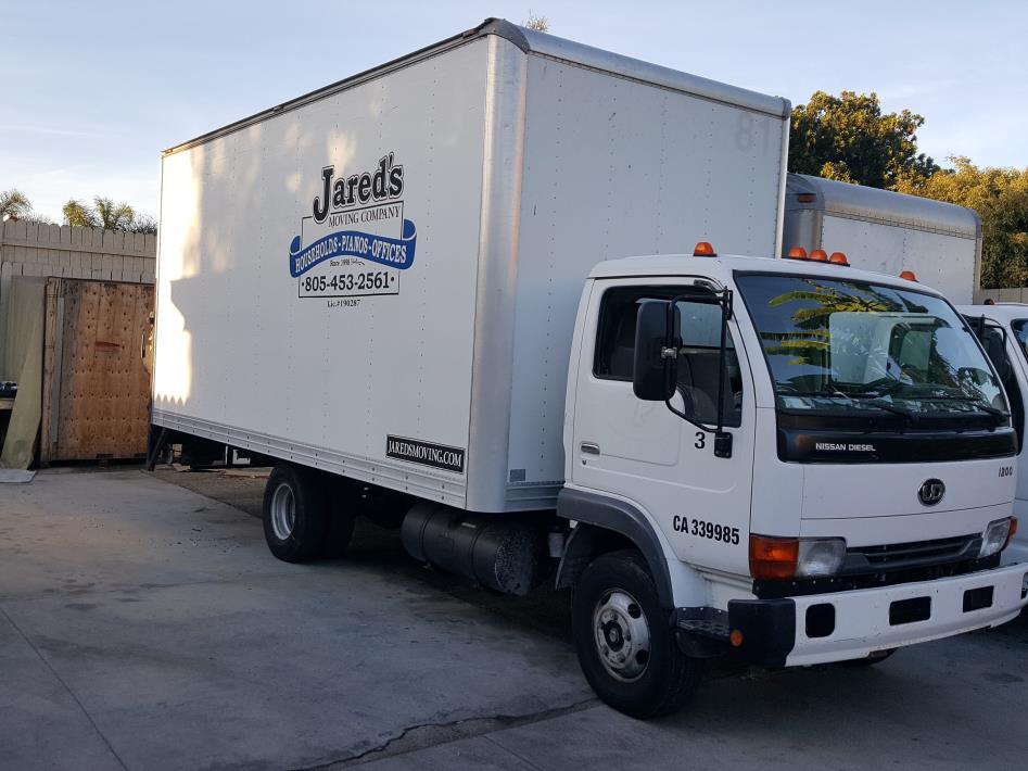 2007 Ud Trucks 1200c  Box Truck - Straight Truck