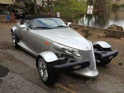 2001 Plymouth Prowler -- 2001 Plymouth Prowler 7000 Miles SILVER Convertible V6 Cylinder Engine 3.5L/215
