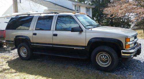 1999 Chevrolet Suburban LT 1999 Chevrolet Suburban K2500 4x4 6.5TD Diesel