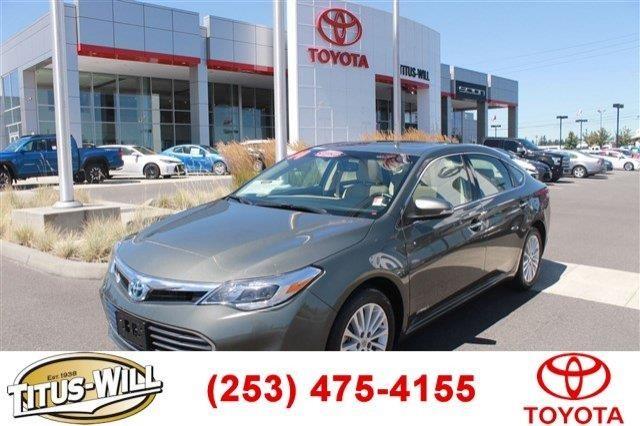 2014 Toyota Avalon Hybrid XLE Premium 4dr Sedan