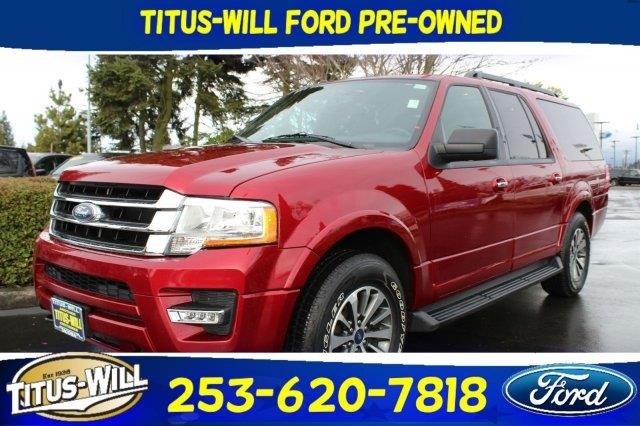 2015 Ford Expedition EL XLT 4x4 4dr SUV