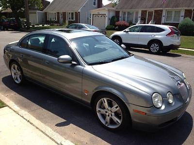 2006 Jaguar S-Type R 2006 Jaguar S-TYPE R 73000 Miles SILVER 4dr Car 8 Cylinder Engine 4.2L/256 6-Spe