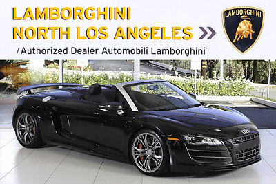 audi r8 gt spyder cars for sale. Black Bedroom Furniture Sets. Home Design Ideas