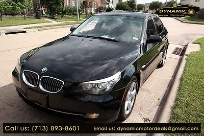 2008 BMW 530xi 535xi 2008 BMW 530xi 535xi 104,900 Miles BLACK 4dr Car 3.0 Automatic