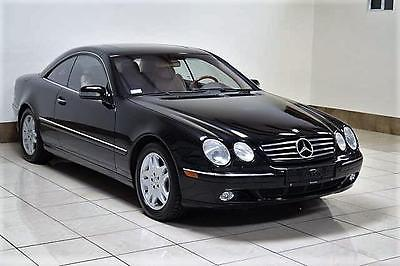 2000 Mercedes-Benz CL-Class LEATHER MERCEDES-BENZ CL-CLASS CL500 BLACK ON TAN FULLY LOADED LOW MILES SUPER CLEAN