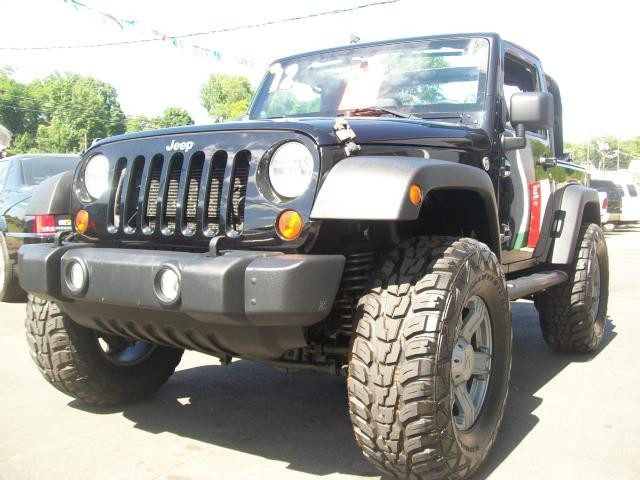 2012 Jeep Wrangler 4WD 2dr Sport Lifted