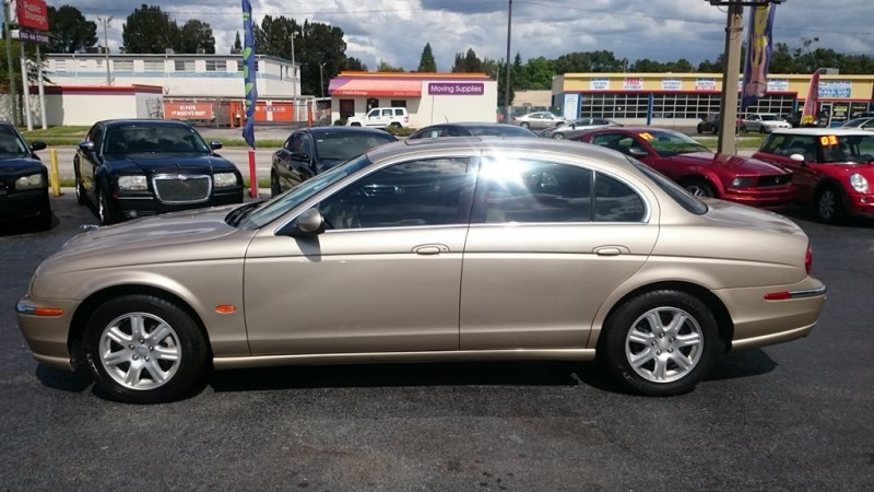 2004 Jaguar S-Type Base
